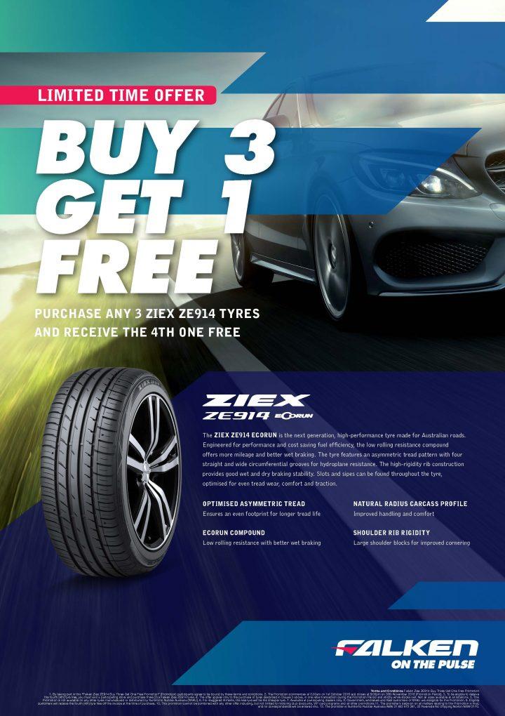 Falken Azenis ZE914 Tyres Promotion