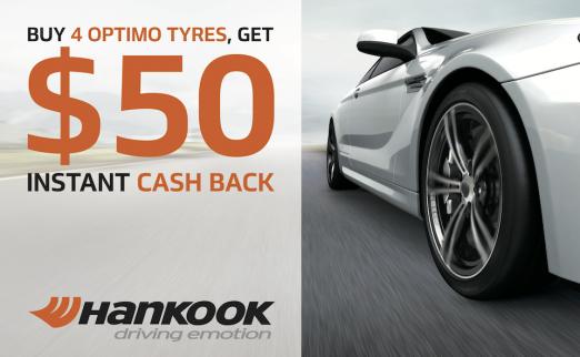 Hankook Tyres Promotion