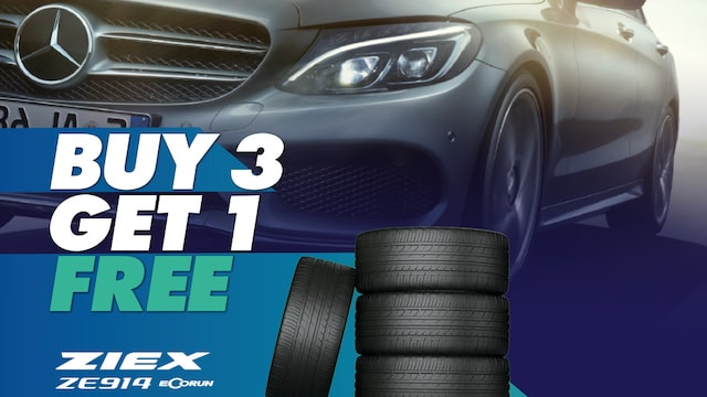 Buy 3 Falken ZE914 Tyres and get the 4th FREE