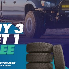Buy 3 Falken Wildpeak AT3W Tyres and get the 4th FREE